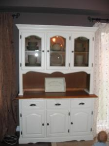 Kelly Clarke Painted Refinished Hutch Bowmanville