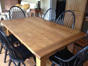 Solid Oak Kitchen Table