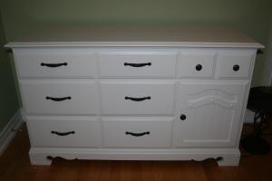Jacobs painted bedroom furniture