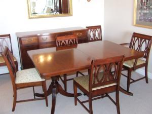 Tabone Mahogany Dining Set