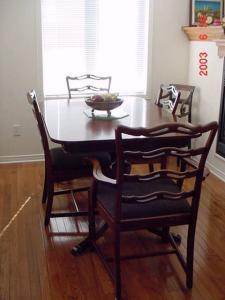 mahogany-table-chairs